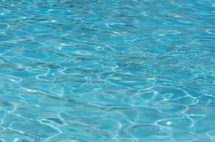 abstract aqua blue clean